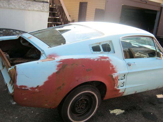 1967 Ford Mustang Fastback Full Project Was V8 4 Speed Car