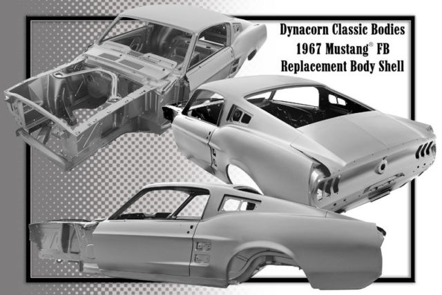 Ford Mustang 1967 Technical Specifications