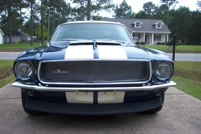 1967 FORD MUSTANG FASTBACK - 125246  1967 Ford Mustang Fastback Blue