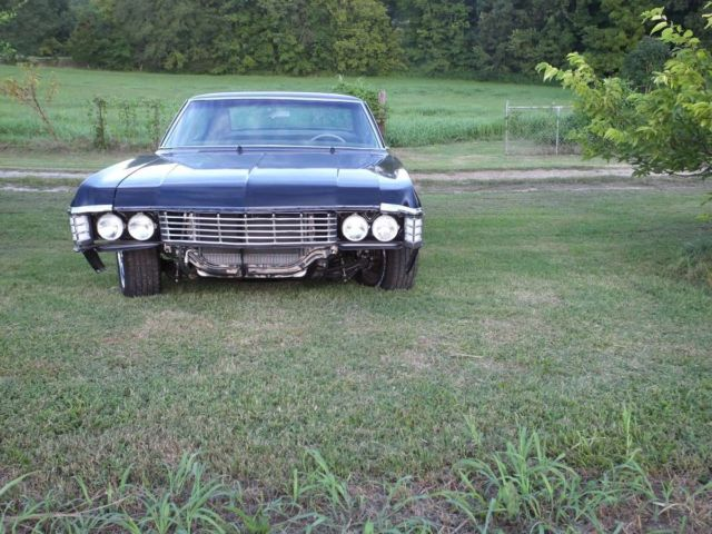1967 Impala 4 Door Hardtop Black Supernatural 67 Chevrolet