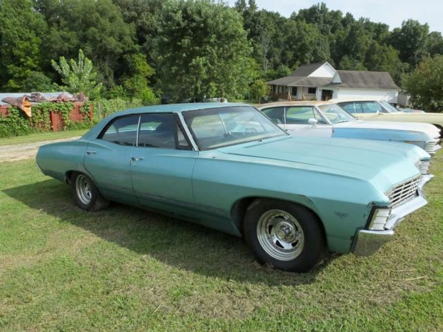 1967 Impala 4 Door Hardtop Black Supernatural 67 Chevrolet