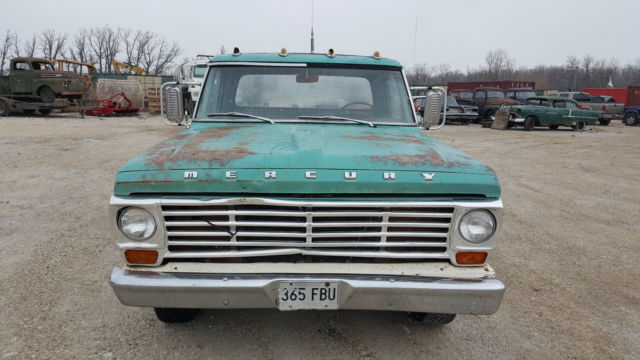 1967 Mercury M100 Rare Custom Cab 1 2 Ton Ford F100 Pickup