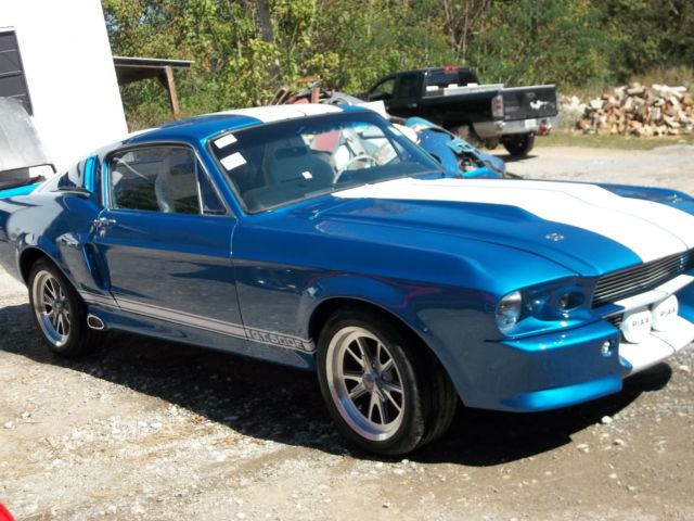 Eleanor Mustang Fastback 1967 Classic Recreations
