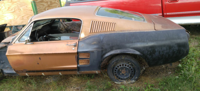 1967 mustang fastback 7f02c with lots of parts 1967 mustang fastback 7f02c with lots of parts
