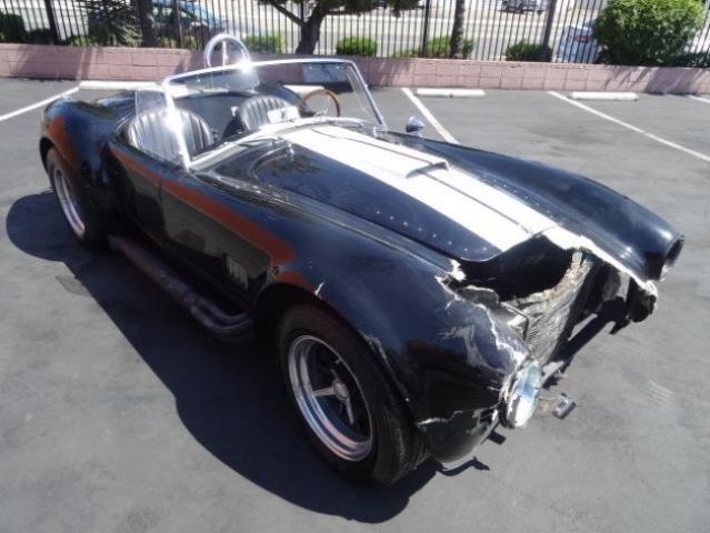 1967 Spcns Cobra Replica 427 Project Fixable Damaged Salvage Wrecked