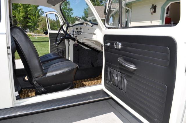 Volkswagen Beetle Convertible For Sale >> 1967 Volkswagen Beetle - White with black interior