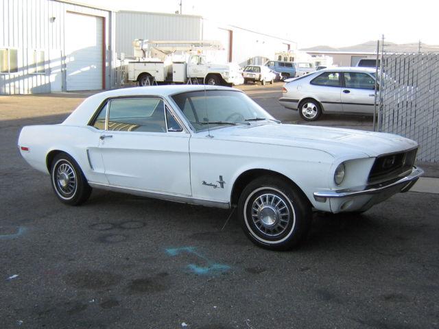 1968 68 67 65 66 MUSTANG J CODE RARE 302 SUPER SOLID WEST COAST CAR HIGHLAND GRN