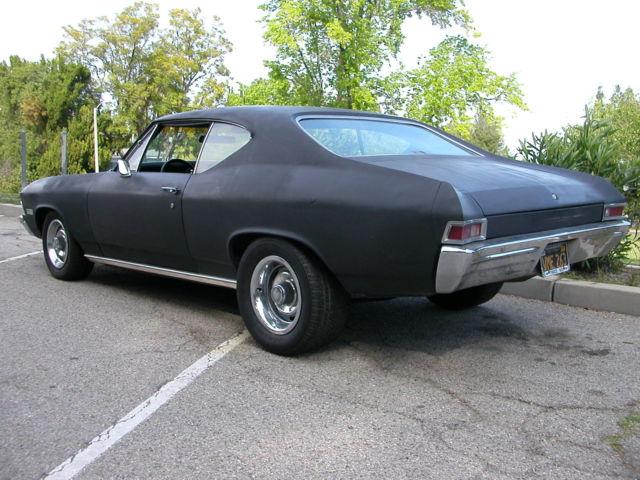 1968 Chevelle Factory 4 Speed 327 4 Barrel 275 Hp Calif