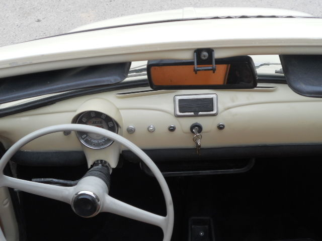 1968 fiat 500 vintage 110f beige restored now. Black Bedroom Furniture Sets. Home Design Ideas
