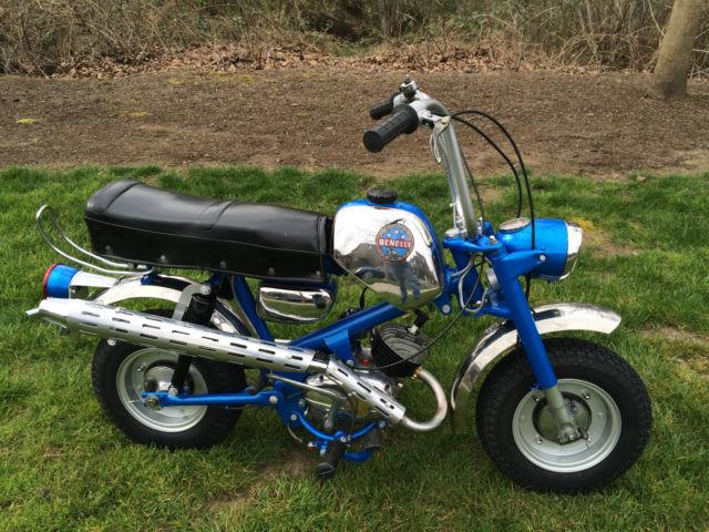 1969 benelli dynamo 65 cc 3 speed mini bike