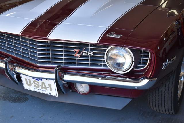 1969 Camaro Rpo