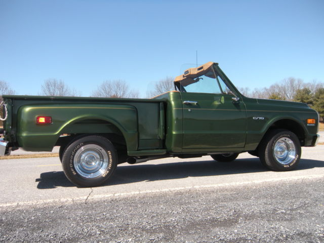 Muscle Cars With Good Gas Mileage >> 1969 chevrolet c10 custom convertible stepside short bed