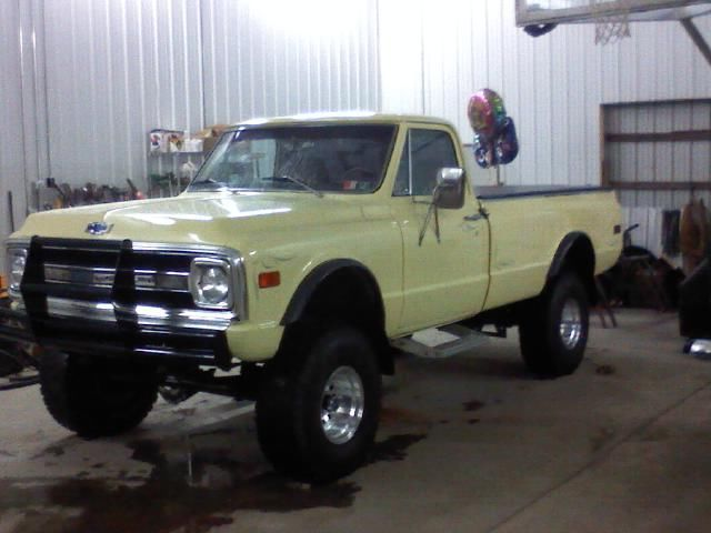 chevy c10 1970 lifted