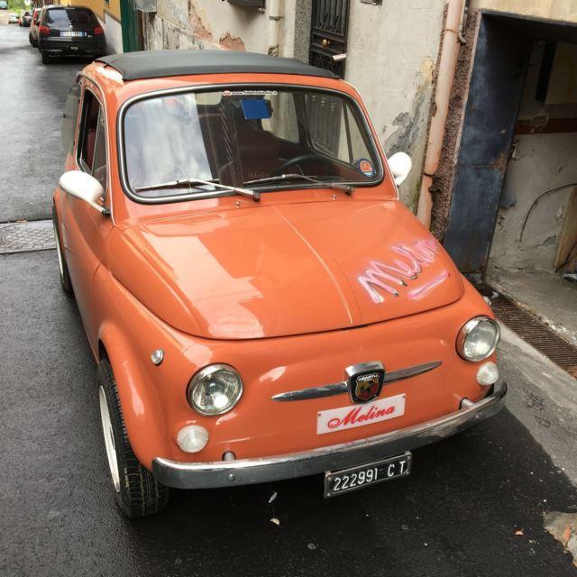 """1969 Fiat 500 110F Luxury Orange Engine 650cc """"Melina"""""""