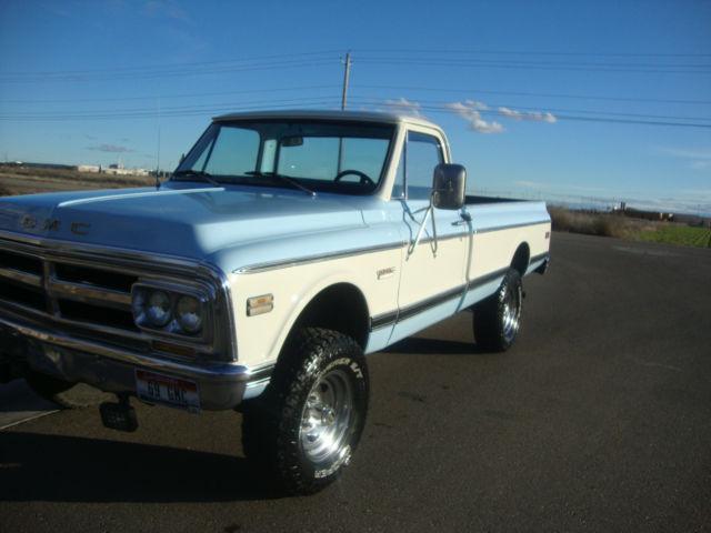1969 gmc 4x4 pickup