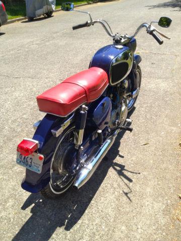 1969 Honda Ca77 305 Dream Two Owner Original Paint Bike