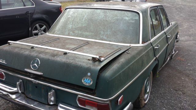 1969 mercedes 280s w108 sedan for parts or restoration a c for Mercedes benz w108 for sale