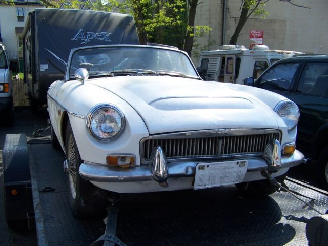 1969 MGC Roadster Original Unrestored 4 Speed with OD