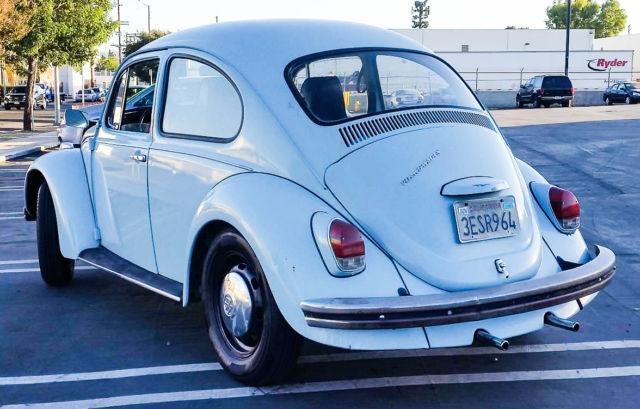 1969 volkswagen beetle light blue daily driver. Black Bedroom Furniture Sets. Home Design Ideas