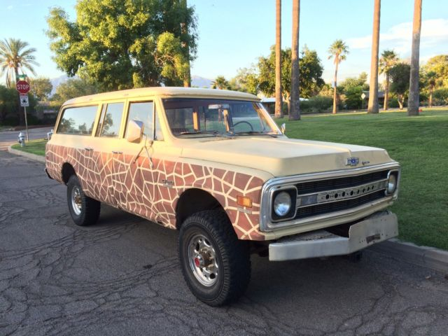 1970 chevy k20 4x4 suburban 350 v81970 Chevy Suburban 4x4 #20