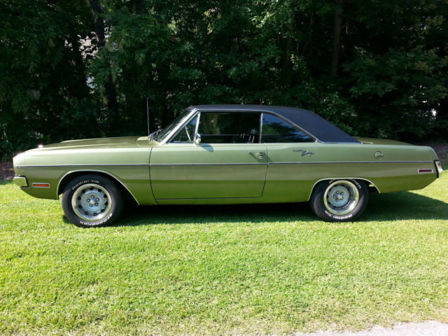 Dodge Dart Tire Size >> 1970 Dodge Dart Swinger - Survivor - 25,332 original miles