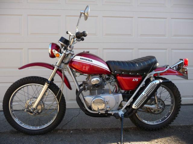 1970 HONDA SL175 K0, ONLY 4,555 MILES