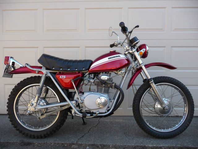 1970 honda sl175 k0 only 4555 miles sciox Images