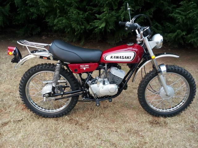 S Kawasaki Motorcycles Enduro Red