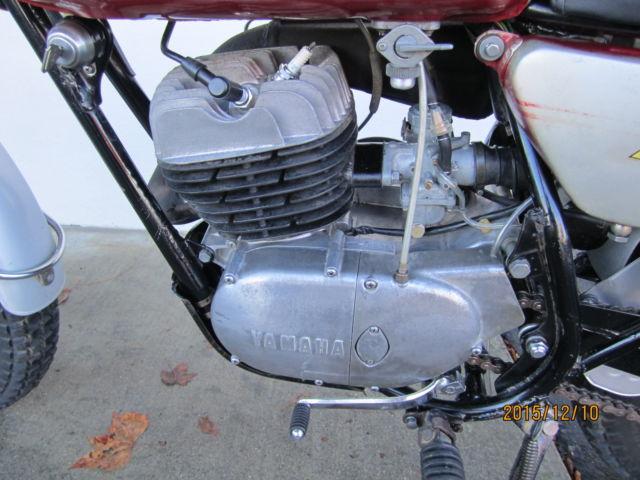 1970 YAMAHA 250 DT1-C DT250 DT 250 ENDURO VINTAGE CLASSIC ...