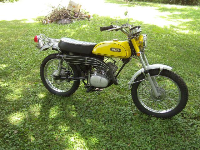 1970 Yamaha DT125 Enduro Not Running Project