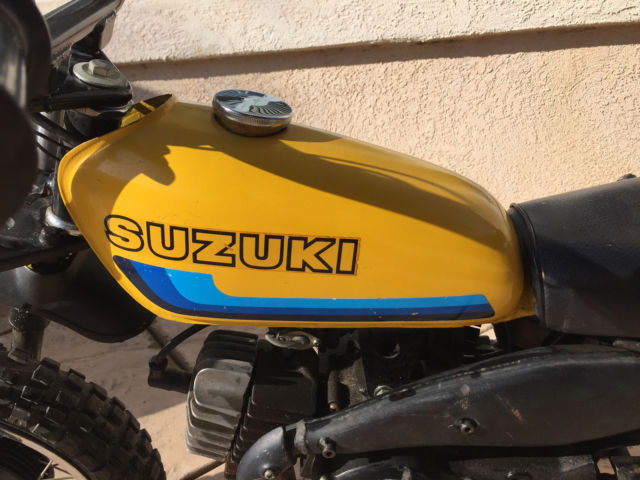 1970 S Suzuki Jr 50 Dirt Bike Motorcycle Suzuki Vintage