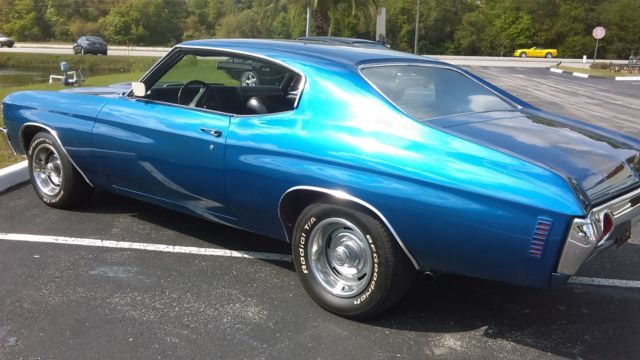 1971 Chevrolet Chevelle Malibu Ss Great Shape A C Crate Engine New Interior