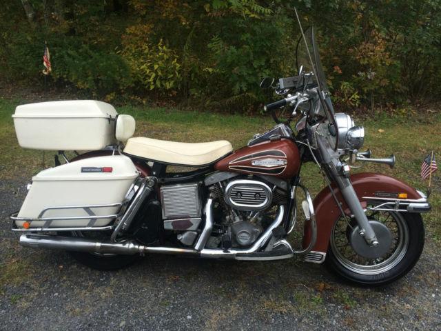 Color Smoke Tires >> 1971 Harley FLH ElectraGlide original paint