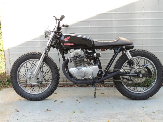 Pro Taper Handlebars >> 1971 HONDA CB 350 TWIN BRAT STYLE, BOBBER, CAFE RACER, DIRT TRACKER