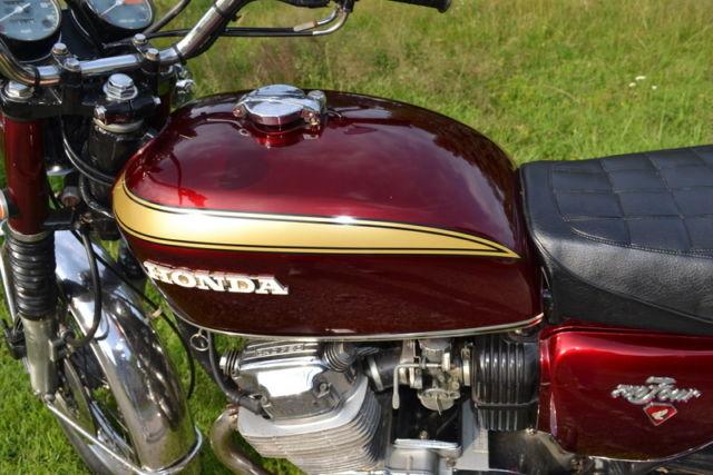 1971 Honda Cb750 K1 Red Original Matching Numbers Classic