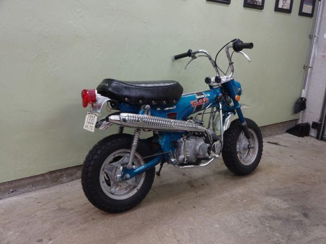 ... 70 H Mini Trail Bike. 1971 Honda CT