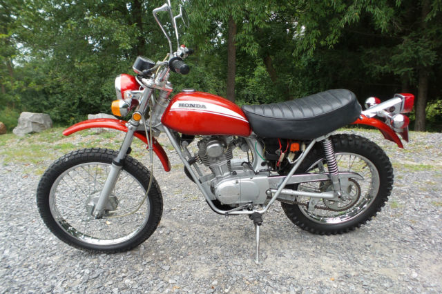 1971 Honda SL100 SL100 Enduro Motorcycle