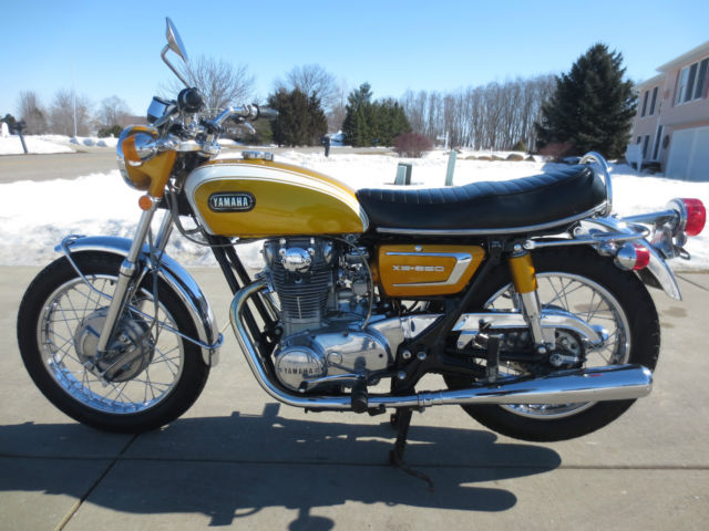 1971 yamaha xs650 for Yamaha motorcycle vin
