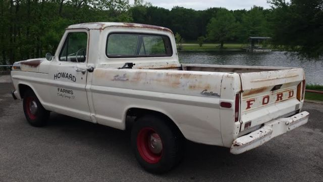 1972 Ford F100 Exhaust System : Ford f truck pictures to pin on pinterest daddy