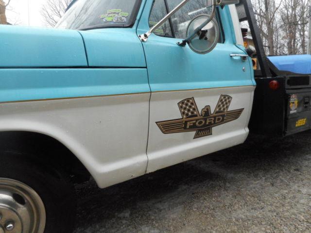Tow N Go >> 1972 FORD OLD SCHOOL DRAG CAR HAULER! GASSER OR RAT ROD RAMP TRUCK! THUNDERBOLT