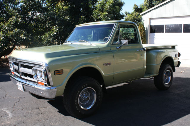 1970 chevy truck 4x4 stepside