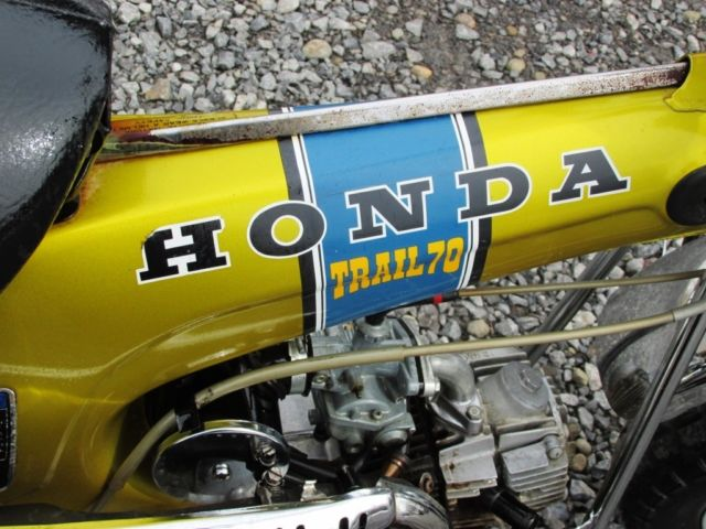 1972 honda ct70 candy gold automatic unrestored honda ct 1972 technical specifications sciox Image collections