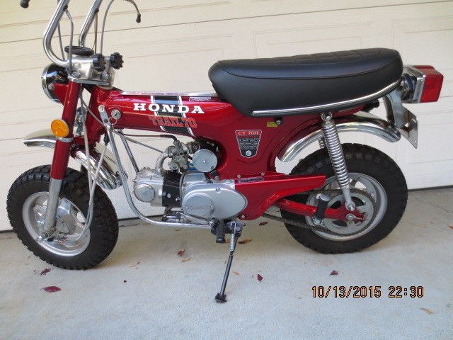 1972 honda ct70 hk1 4 speed sciox Image collections