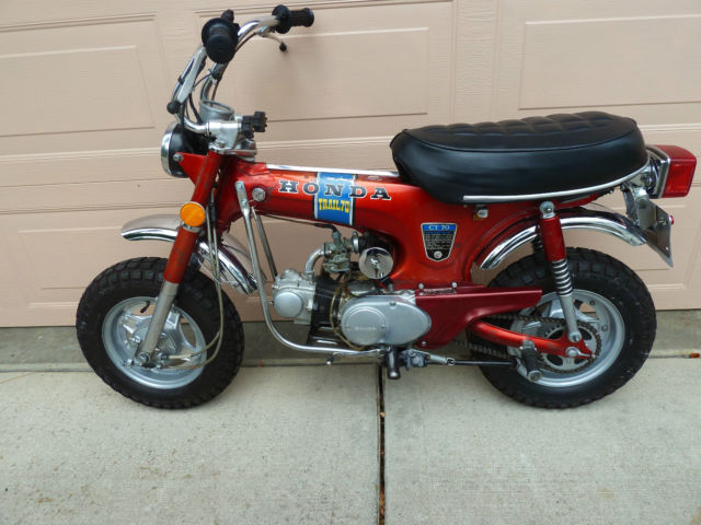 1972 honda ct70 k1 mini trail 70 3 speed titled dual purpose sciox Image collections