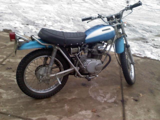 1972 Honda Sl175 Vintage Enduro 175cc Motorcycle Runs