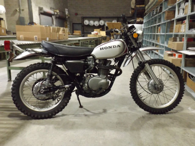 1972 honda xl250 motosport vintage enduro motorcycle mx ahrma sl xl xr 250. Black Bedroom Furniture Sets. Home Design Ideas