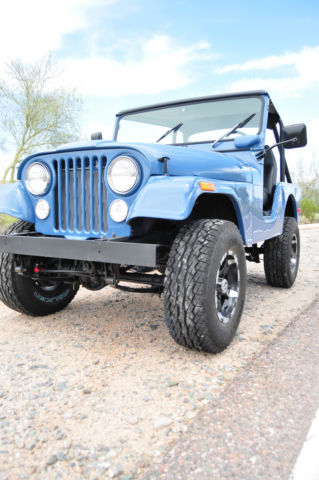 Strange 1972 Jeep Cj5 Base Sport Utility 2 Door 5 0L Wiring Cloud Peadfoxcilixyz