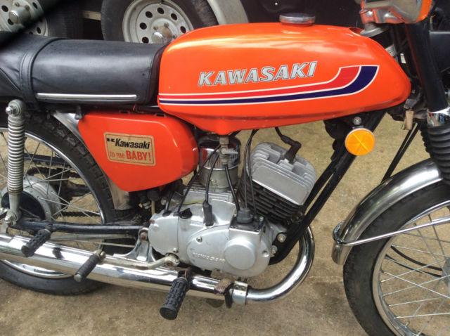 1972 kawasaki g3 90 h1, h2, dirtbike antique vinage kawasaki