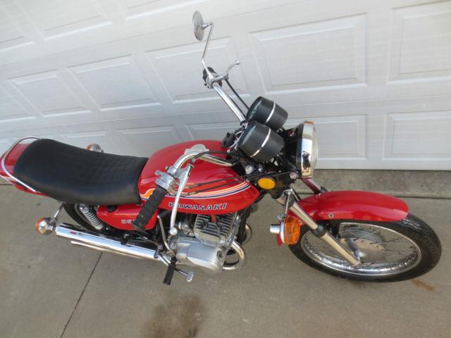 1972 Kawasaki S2 350 Triple