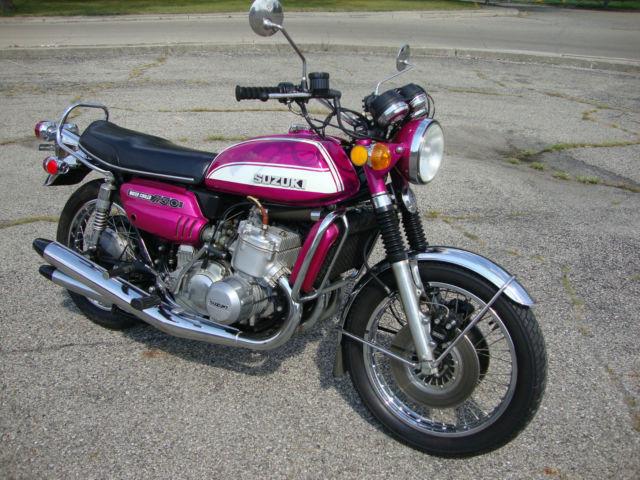 Used Cars Buffalo >> 1972 Suzuki GT750 Water Buffalo Kettle NICE ORIGINAL Runs ...